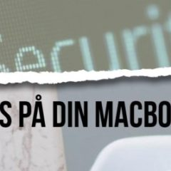 antivirusprogram til din Mac