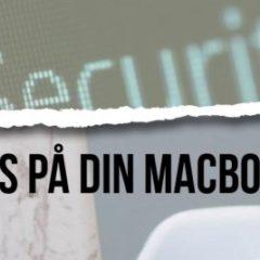 antivirusprogram til din Mac
